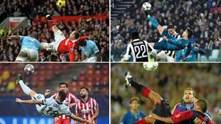 Las chilenas que aún recuerdas: Rooney, Rivaldo, Cristiano... ¿cuál de todas crees que fue la mejor?