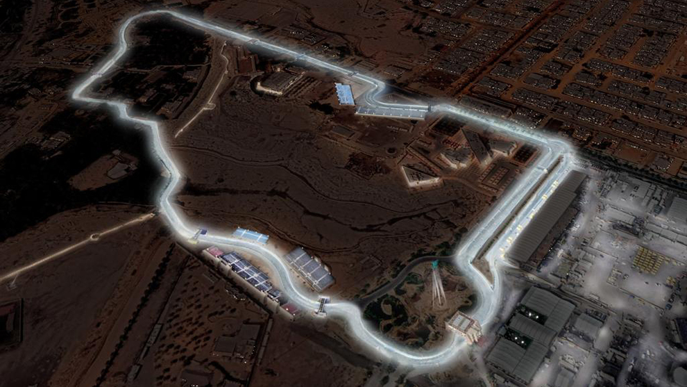 600 focos de bajo consumo iluminarán la pista árabe