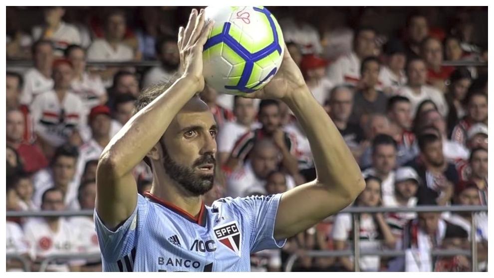 El último partido (en Brasil) de Juanfran