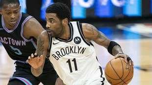 Irving, en acción con los Nets este 2021.