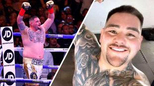 Andy Ruiz y su impresionante cambio físico para volver al ring