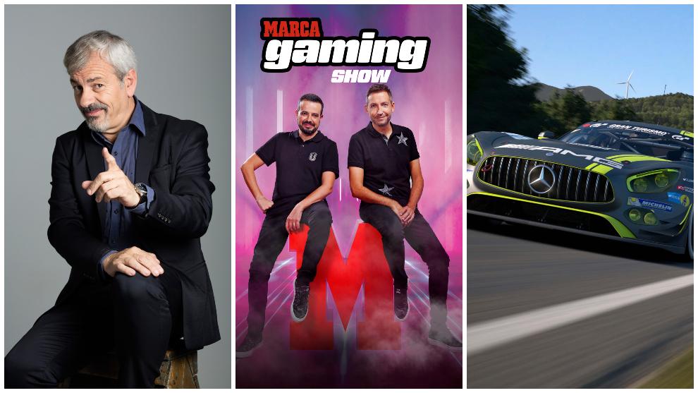 ¡Ya puedes ver MARCA Gaming Show con Carlos Sobera!