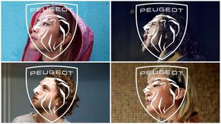 El nuevo logotipo de Peugeot es un escudo con una cabeza de león que...
