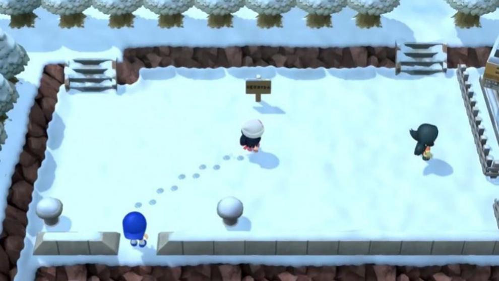 Los paisajes nevados de Sinnoh llegan a Nintendo Switch de la mano de Pokémon Diamante Brillante y Perla Reluciente.