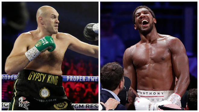 Tyson Fury and Anthony Joshua close to agreeing title unification fight