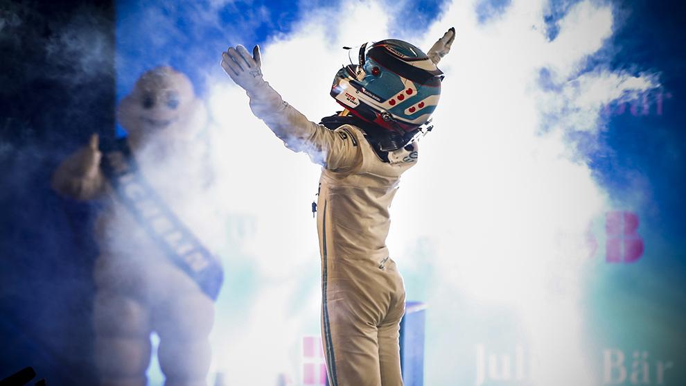 Nick De Vries Diriryah E-Prix
