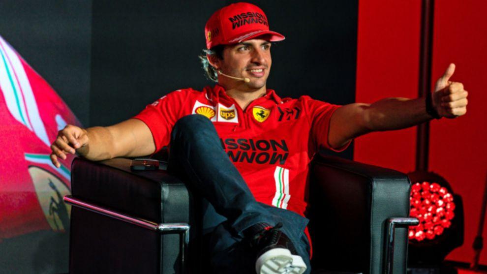 """Sainz: """"En cinco años quiero ser campeón con Ferrari"""""""