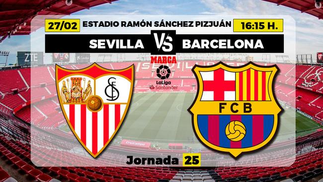Sevilla-Barça: juez y parte