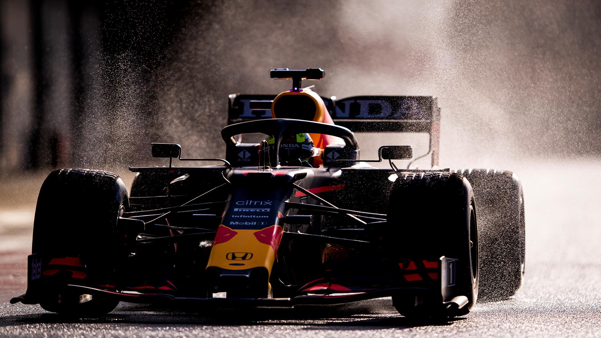Checo Pérez, en Silverstone.