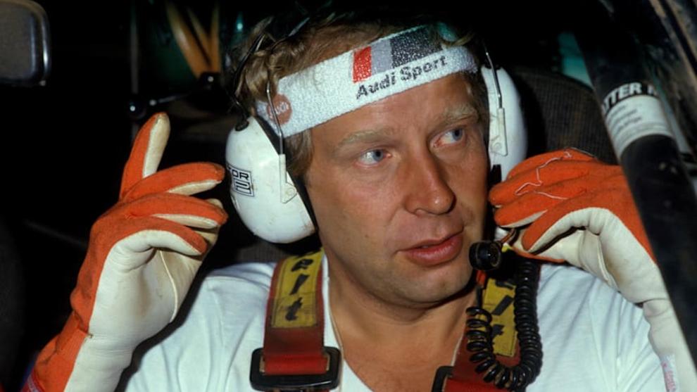 Mikkola dio el primer Mundial a Audi en 1983.