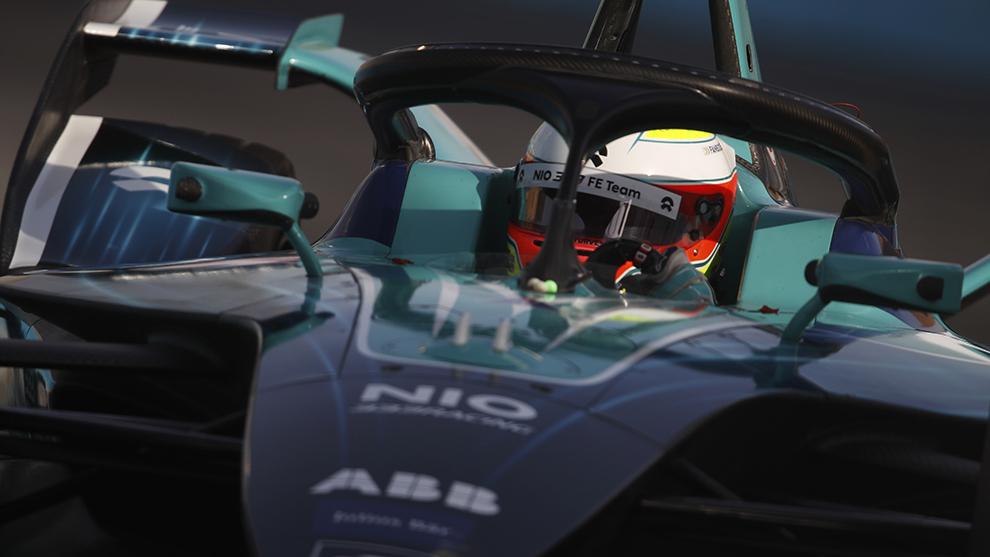 NIO, el equipo más modesto, metió a sus dos coches en la Super Pole.