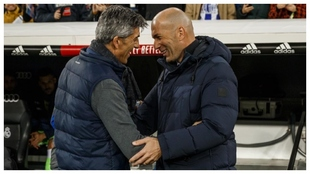 Zidane and Imanol