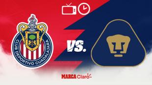 ¿En qué canal pasan el Chivas vs Pumas?