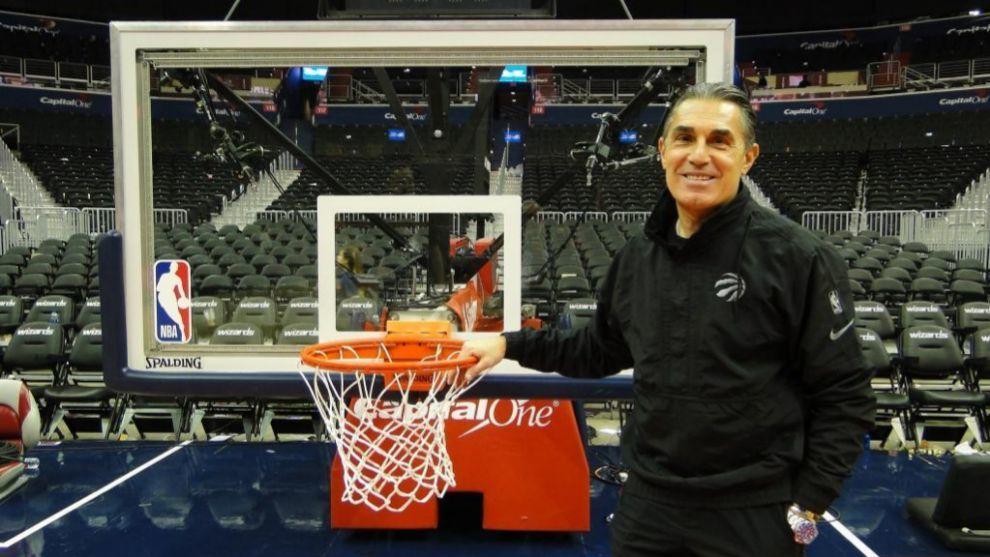 Sergio Scariolo, entrenador de los Raptors.