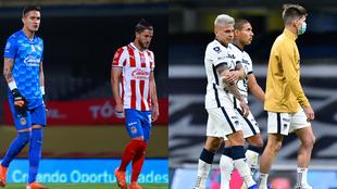El Chivas vs Pumas luce como uno de los más atractivos de la jornada...