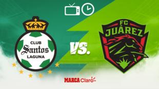 Santos vs FC Juárez: Horario y dónde ver en vivo.