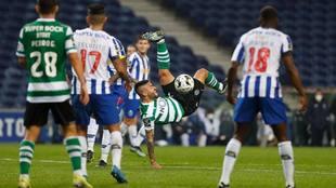 Sporting Lisboa y Porto no se hacen daño.