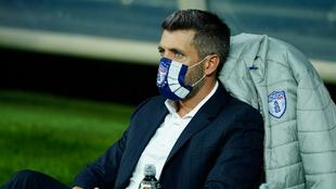 Paulo Pezzolano se negó a responder preguntas de la prensa. |