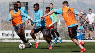 Real Madrid's training session
