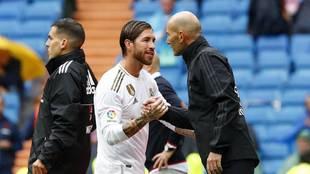 Zidane and Ramos