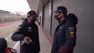 Checo y Verstappen dudan sobre las carreras al sprint en la Fórmula...