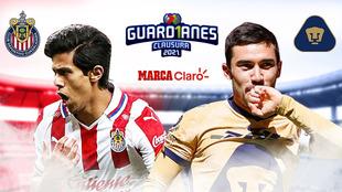 Chivas vs Pumas, en vivo minuto a minuto.