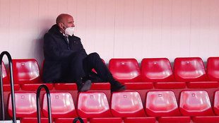 Monchi in the stands