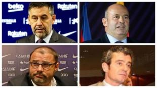 Bartomeu, Grau, Gómez Ponti y Masferrer.