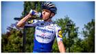 Remco Evenepoel (Deceuninck Quick Step) durante una carrera antes de...