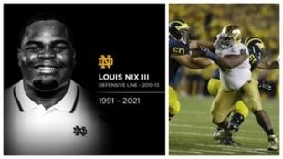 Louis Nix ha sido encontrado muerto.