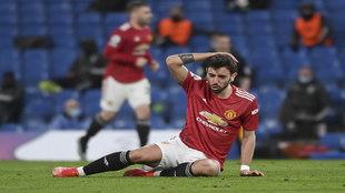 Fernandes struggled against Chelsea