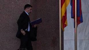 Bartomeu, detenido: pasa la noche en comisaría por el caso 'Barçagate'