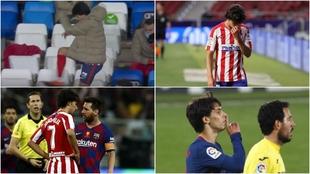 Joao Félix, contra el Madrid, el Malllorca, el Barça y el Villarreal