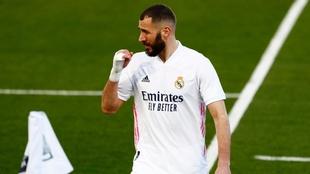 real madrid extraña los goles de karim bezema