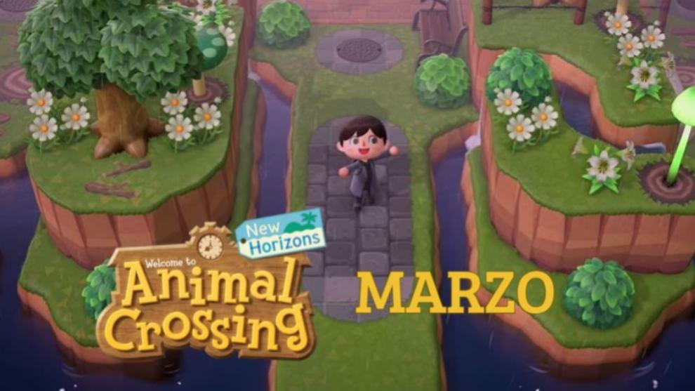 animal crossing marzo evento