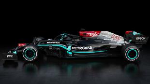 Así es el nuevo Mercedes W12 E Performance de Hamilton y Bottas.