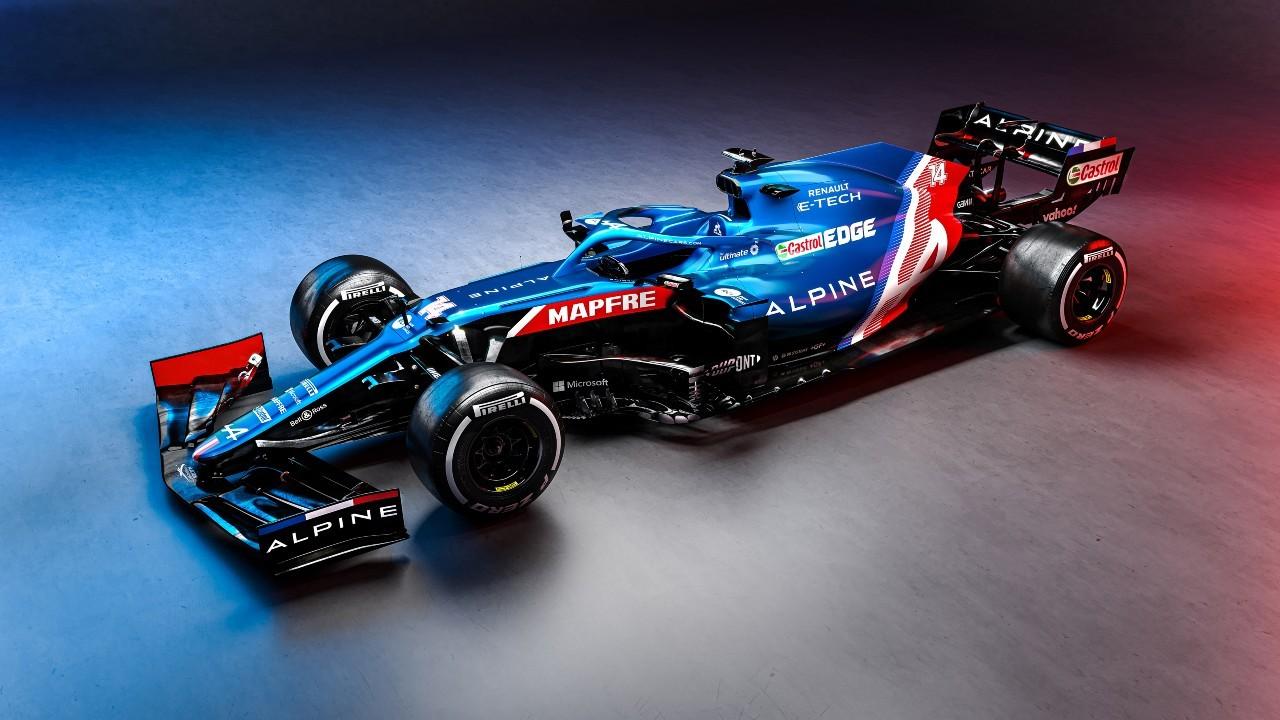 El Alpine A521 de Fernando Alonso, con zaga y suspensiones renovadas