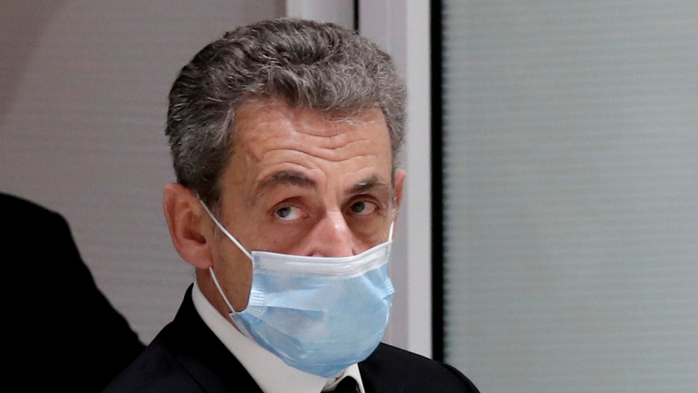 Former French president Nicolas Sarkozy sentenced to three years in prison