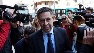 Josep María Bartomeu, expresidente del Barcelona.