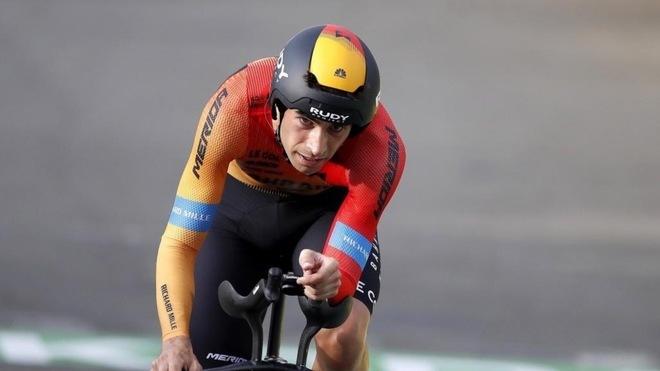 Mikel Landa, en el último Tour de Francia. EFE