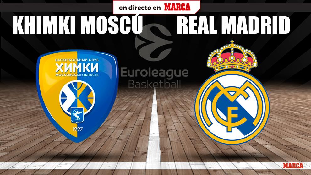 Khimki - Real Madrid en directo