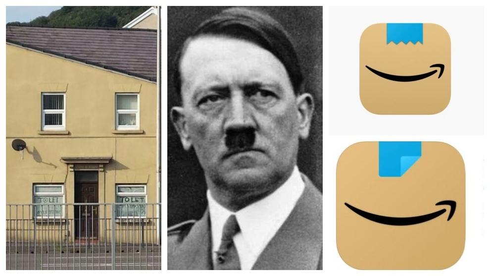 De 'esa casa se parece a Hitler' a... '¡Amazon se 'parece' a Hitler!'