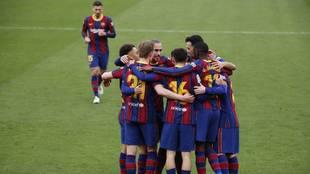 El Barça se dispara: cinco puntos al Atleti, seis al Sevilla y ocho al Madrid