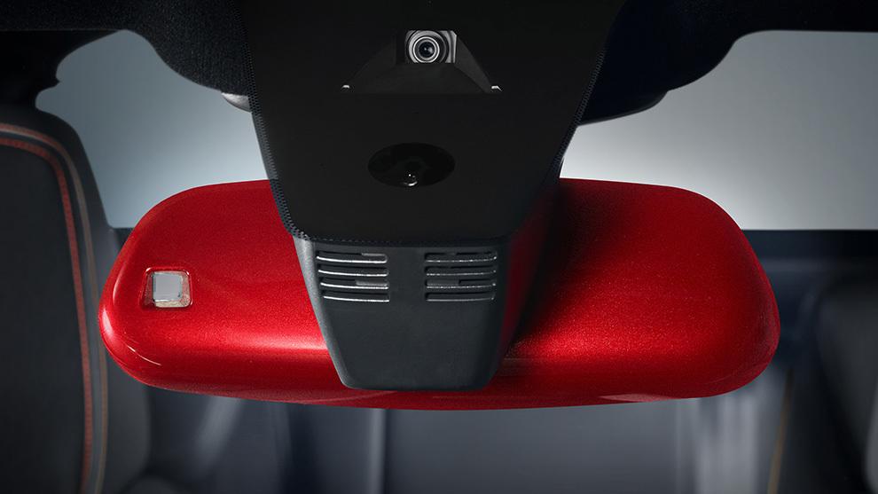 La personalización permitirá incluso 'colorear' el retrovisor interior.
