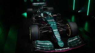 El AMR21 es un Mercedes de 2020 en toda regla.