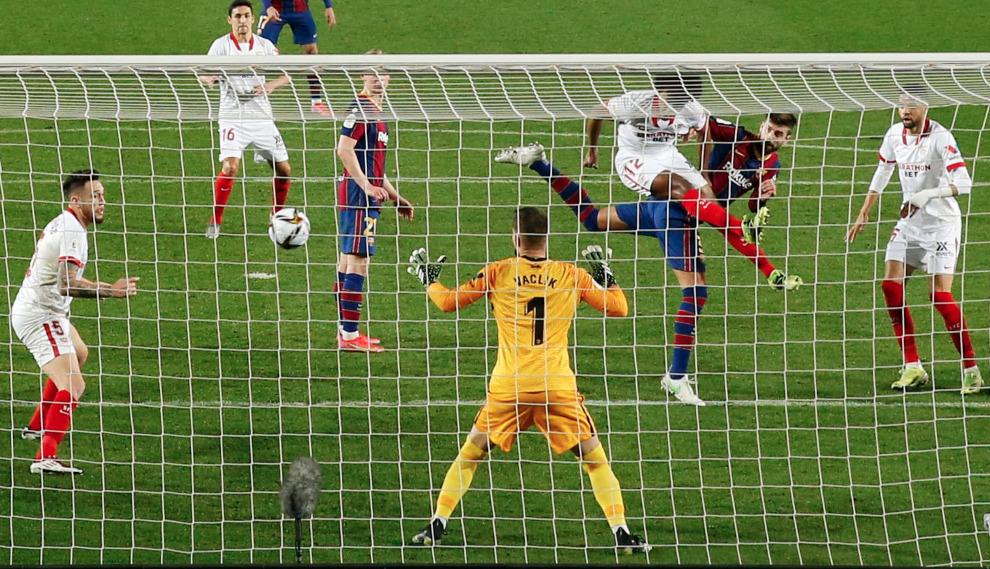 Barcelona vs Sevilla, semifinal de vuelta de la Copa del Rey.