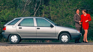 La variante de cinco puertas fue la más vendida.