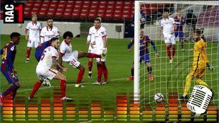 La locura de RAC1 con el gol de Piqué