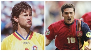 """Búlgaros y rumanos insinúan que el España-Rumanía de la Euro'96 estaba amañado: """"Mirad lo que hicieron los defensas"""""""