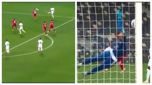 El golazo del 'niño' de Mourinho en el Madrid: recuerda al de Van Basten contra la URSS